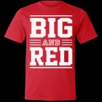 Big and Red T-Shirt (Size: Large)